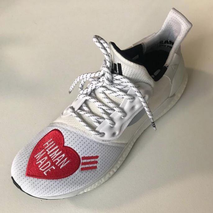 Human made,Pharrell,adidas,发售  菲董亲自上脚!Human made x Solar Hu 实物欣赏