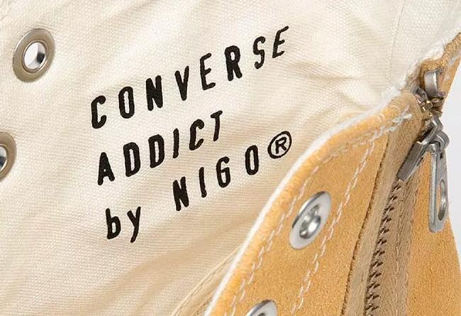 Converse Addict,Converse  NIGO x Converse Addict 麂皮联名新品曝光