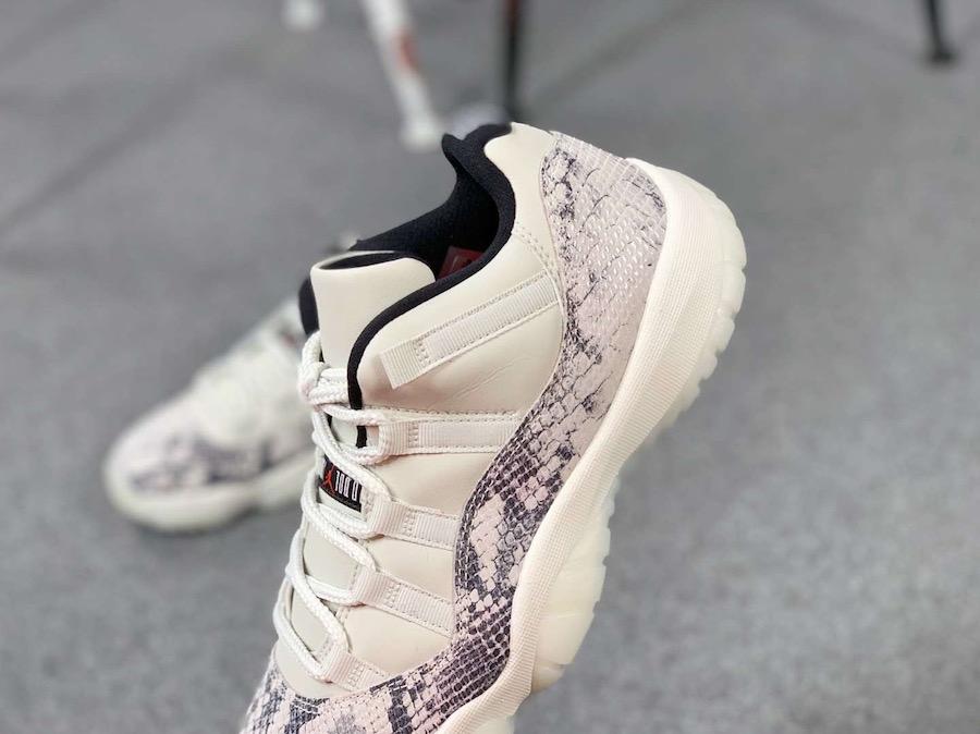Air Jordan 11,AJ11,发售,开箱,CD684  将于 6 月发售!白蛇 Air Jordan 11 Low 最新实物预览