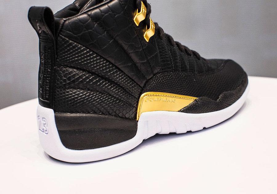 Air Jordan 12,AJ12,Jordan Bran  鳄鱼纹 + 蟒纹 + Wings!又一双高规格 Air Jordan 12 要来了