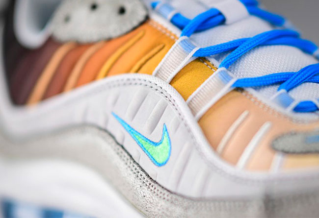 Nike,Air Max 98  纽约主题 Air Max 98 最新实物曝光!将于月底发售