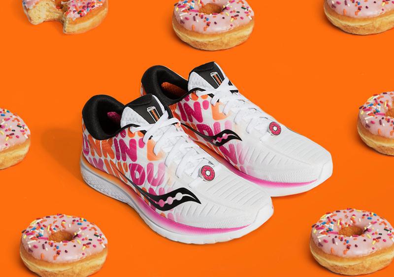 Dunkin',Saucony,发售  玩味十足的糖果配色!Dunkin' x Saucony 联名系列现已发售