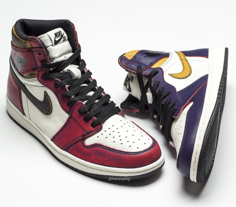 Nike SB,Nike,Air Jordan 1,AJ1,  刮完就是芝加哥!「刮刮乐」Nike SB x AJ1 你心动了么?