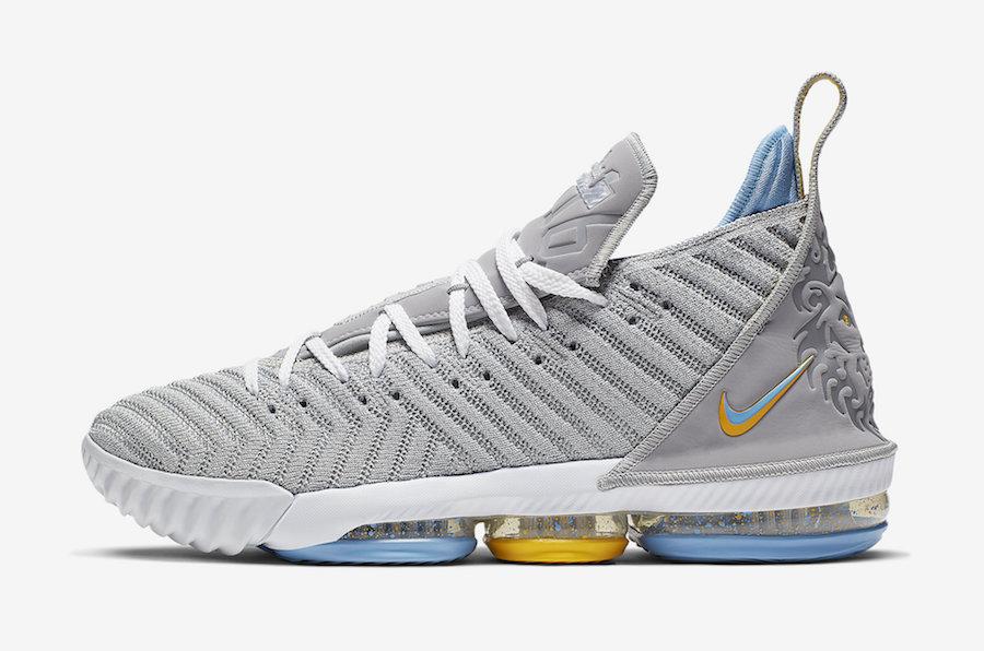 """LeBron 16,Nike,发售,CK4765-001  传承 ZK1 经典配色!Nike LeBron 16 """"MPLS"""" 下月发售"""