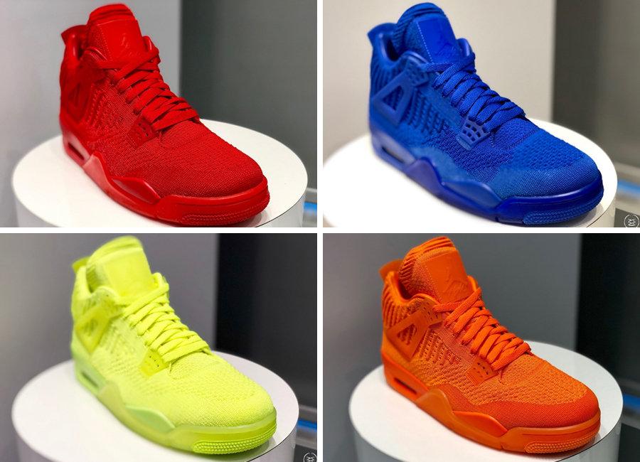 AJ4,Air Jordan 4,AJ,Jordan Bra  编织 Air Jordan 4 首次曝光!Jordan Brand 发布 11 双夏季新品!