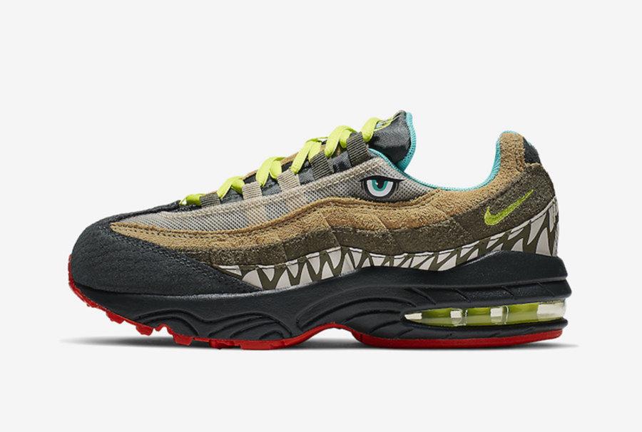 Air Max 95,Nike,发售,CI9944-300  凶猛又可爱的鳄鱼主题!Air Max 95 全新配色即将发售