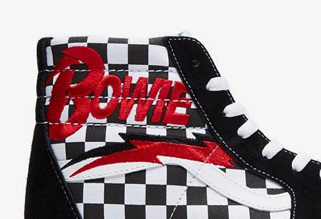 David Bowie,Vans,发售  纪念传奇摇滚巨星!David Bowie x Vans 本月发售