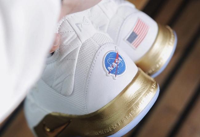 Nike,PG3 NASA,发售,CI2666-100  奢华白金配色,阿波罗登月主题!全新 PG3 NASA 本月发售