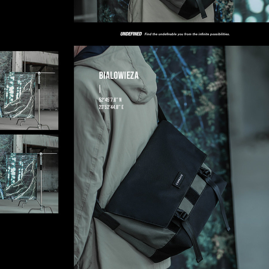comback  不仅实用还能提升衣品!COMBACK UNDEFINED 系列背包现已发售
