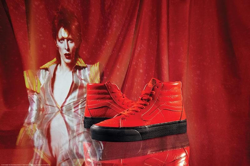 Vans,David Bowie,Sk8-Hi,Era,Ol  致敬摇滚巨星!David Bowie x Vans 联名系列预售刚刚开启!