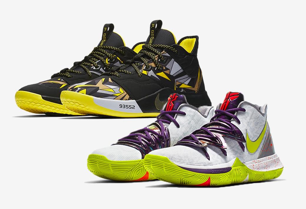 AO2918-102,Kyrie 5,Nike,PG3 AO2918-102 欧文和保罗乔治都将带来「致敬科比」的特别鞋款!