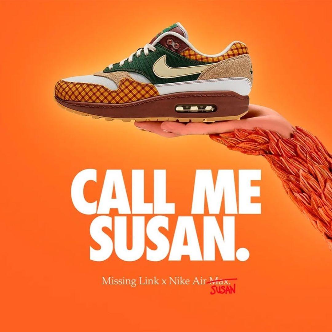 "Nike,Air Max 1,发售  设计规格极高,预售高于原价!Air Max ""Susan"" 明天正式发售"