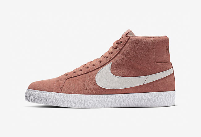 Nike SB,发售,Blazer Mid,Dusty Pe  人气窜升的经典鞋型!Nike SB Blazer Mid 全新配色即将发售!