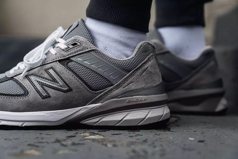 New Balance,990 V5  余文乐最爱的复古鞋型!New Balance 全新一代 990v5 上脚抢先看