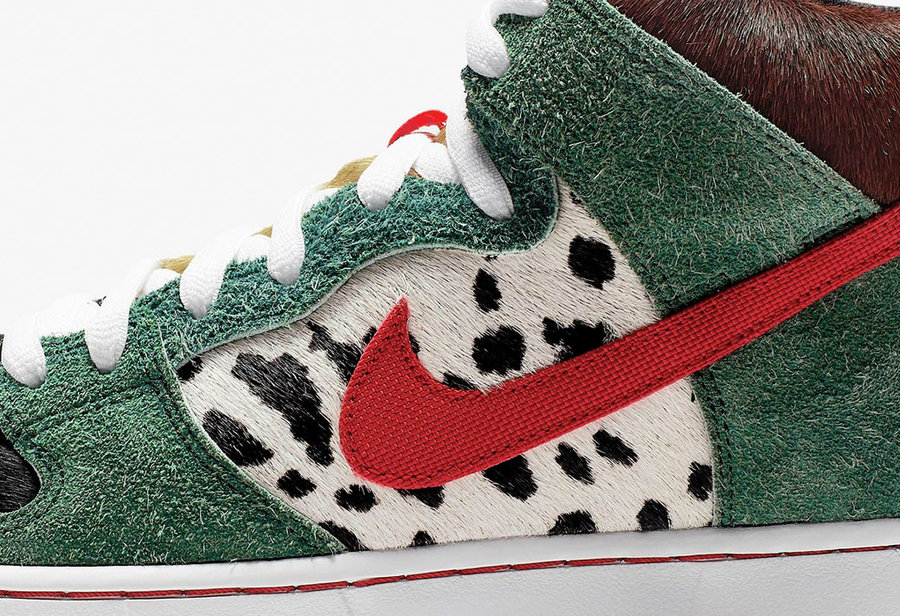 "SB Dunk,Nike,发售,BQ6827-300  预售破 2000!SB Dunk High ""Dog Walker"" 本周发售"