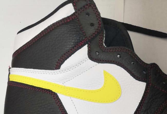 Air Jordan 1,AJ1,发售,Jordan bra  荧光黄 Swoosh + 脚趾配色!这双 Air Jordan 1 新品别错过!