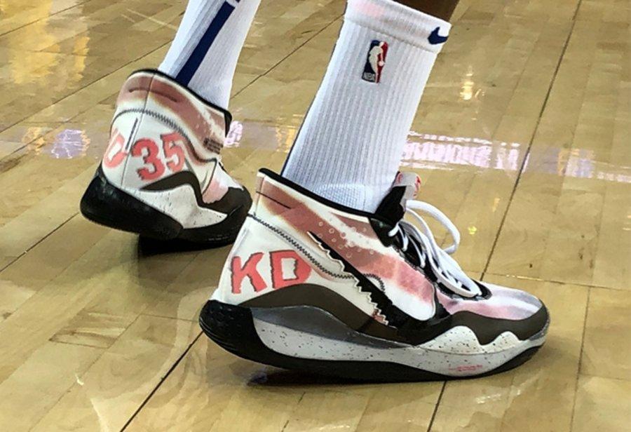 KD12,Zoom Air,Nike,EYBL  独特配色风格,超丰富鞋面细节!两双特殊版本 KD12 首度曝光!