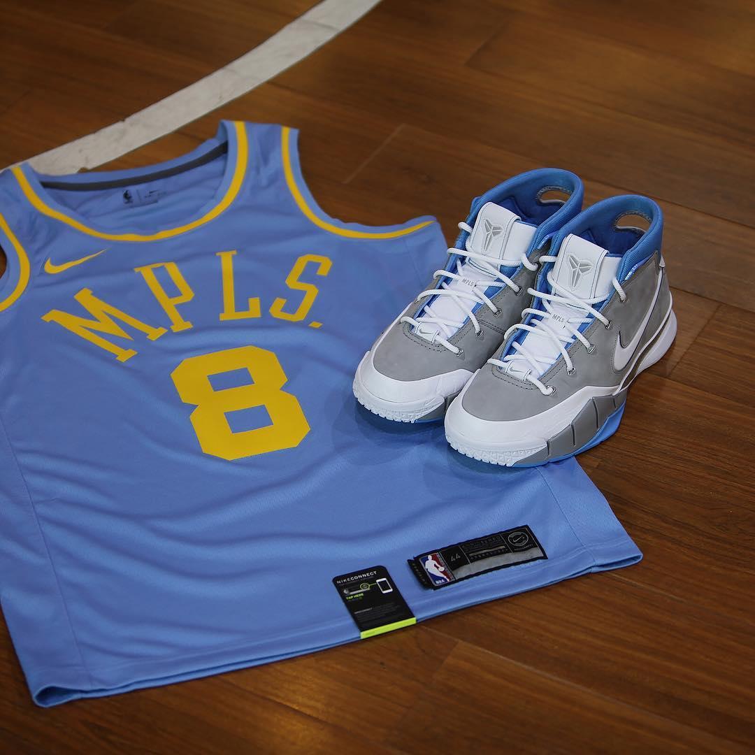 "LeBron 16,LBJ16,Nike,发售,CK4765  致敬复古湖人,传承经典配色!全新 LeBron 16 ""MPLS"" 即将发售"
