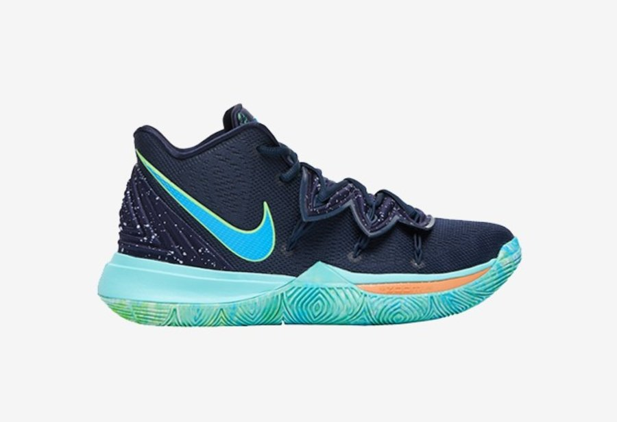 "Nike Kyrie 5,AO2918-400,""UFO""  星空装扮来袭!Kyrie 5 全新配色即将发售"