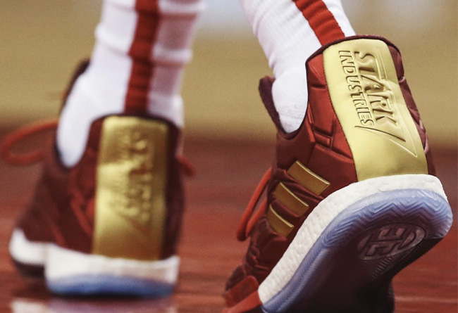 NBA,Nike,adidas,上脚,美图  哈登上脚「钢铁侠」!NBA 季后赛球鞋上脚精选!