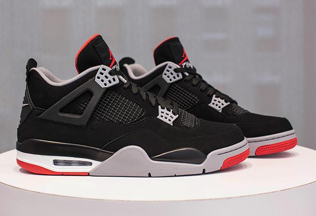 AJ4,Air Jordan 4,308497-060  黑红 Air Jordan 4 官网链接释出!海外已经突袭发售了