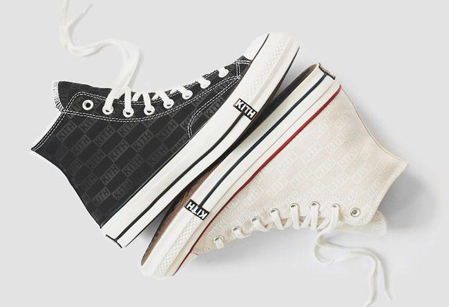 Kith × Converse,Chuck 70  经典配色遇上大牌联名!KITH × Converse Chuck 70 新鞋发布