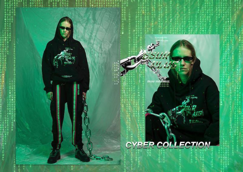 ssur,cyber  复古赛博朋克风!SSUR*PLUS 全新 CYBER 系列现已发售