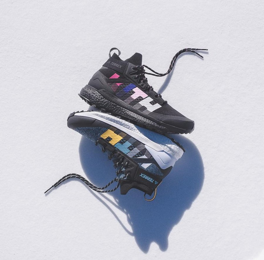 adidas,Terrex Free Hiker  鞋圈的「全能特种兵」来了!春游出行穿它准没错!