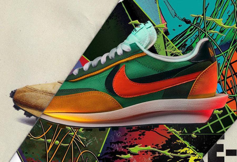 Sacai,Nike,LDV Waffle,Blazer,发  炒卖价破万!冠希多次上脚的 Sacai x Nike 发售日期释出!
