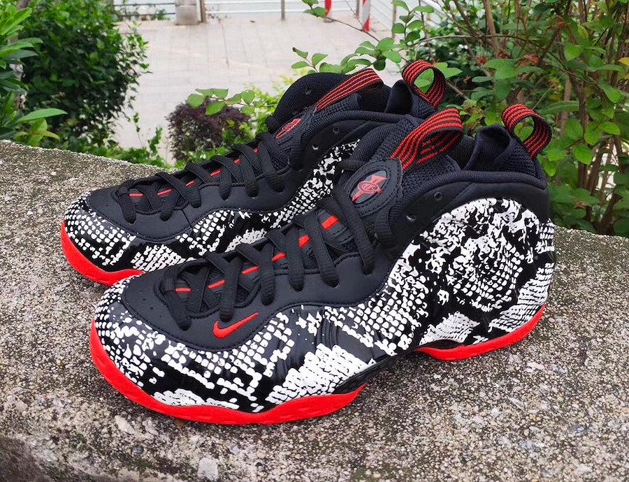 314996-101,Foamposite One,Foam 314996-101 今年蛇皮球鞋复兴!但「蛇皮喷」的发售延期了!