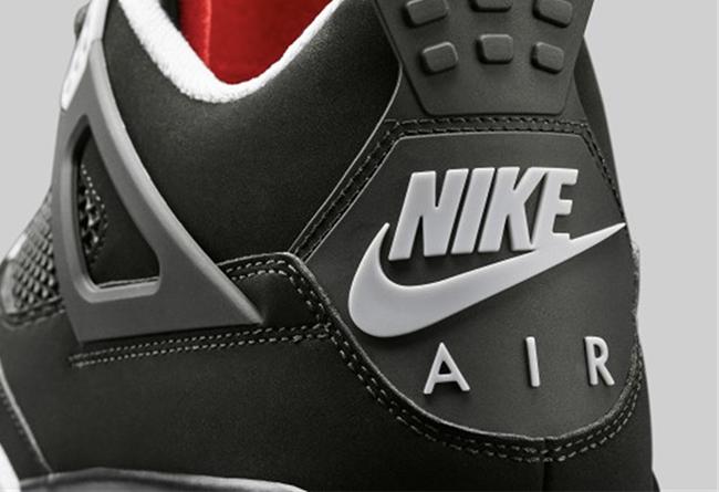 Air Jordan 4,AJ4,bred,发售,30849  除了 Logo 还有何区别?黑红 Air Jordan 4 新老版本对比