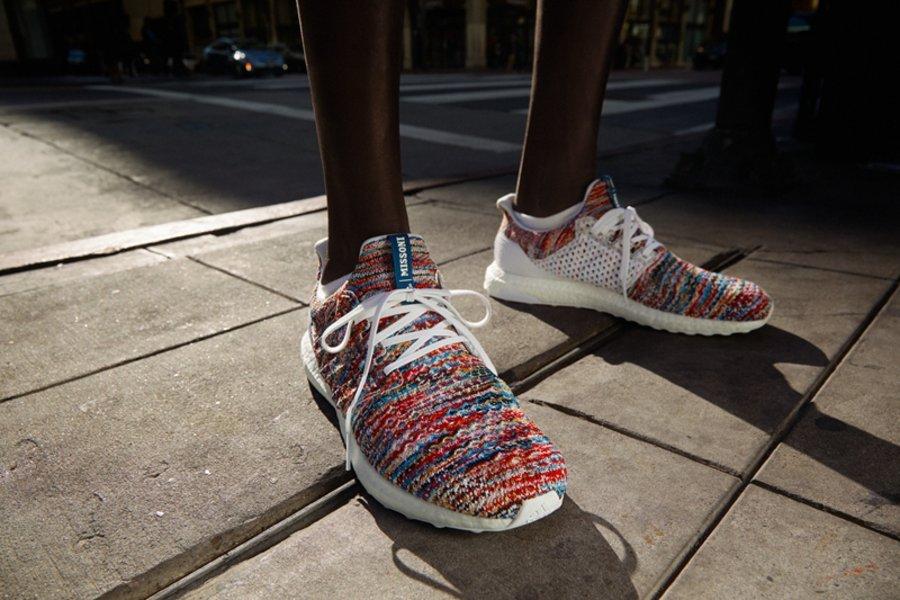 adidas,Ultra Boost,Missoni  与意大利针织品牌的顶级联名!adidas x Missoni 官网刚刚上架!