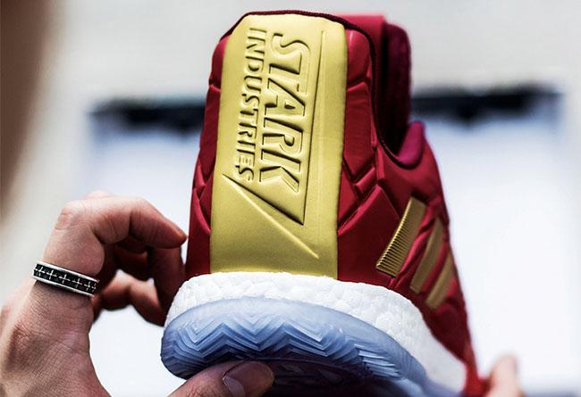 adidas,复仇者联盟,漫威,钢铁侠,Harden,T-M  穿上「漫威联名」去看 《复联4》,身边观众不停问我要链接!