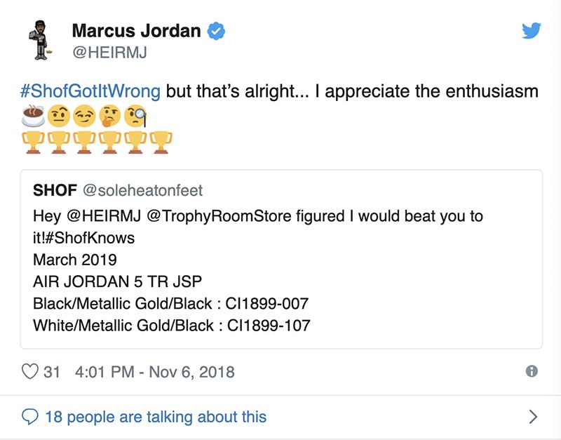 Trophy Room,AJ5,Air Jordan 5  Jordan 亲儿子联名!Trophy Room x AJ5 实物首度曝光