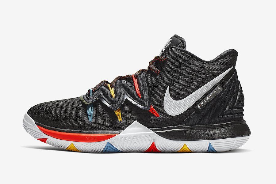 Nike,Kyrie 5,发售  配色灵感源自 《老友记》!全新 Kyrie 5 即将发售