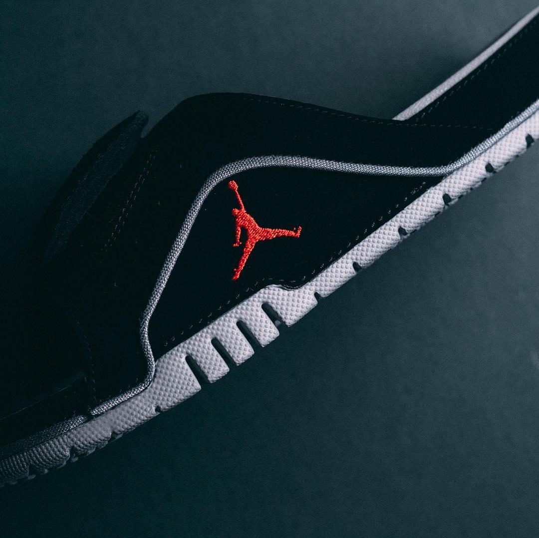 Air Jordan,Jordan Hydro,发售  黑红 AJ4 拖鞋来了!Jordan Hydro 4 官网现已发售