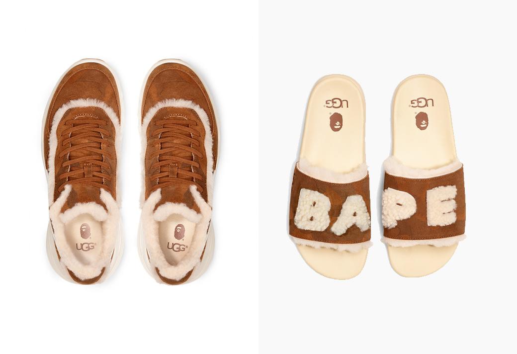 发售,UGG,BAPE,明星,上脚  Lil Wayne 上脚!BAPE® × UGG 联名鞋款即将发售