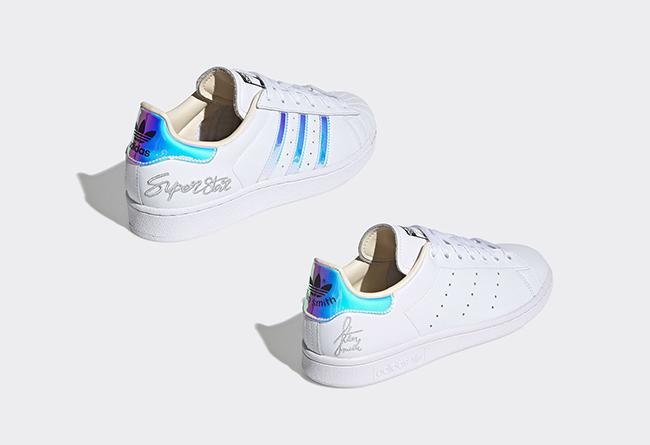 adidas,Stan Smith,Super Star,发  全息装扮 + 刺绣签名!这两双 adidas 小白鞋也太帅了!