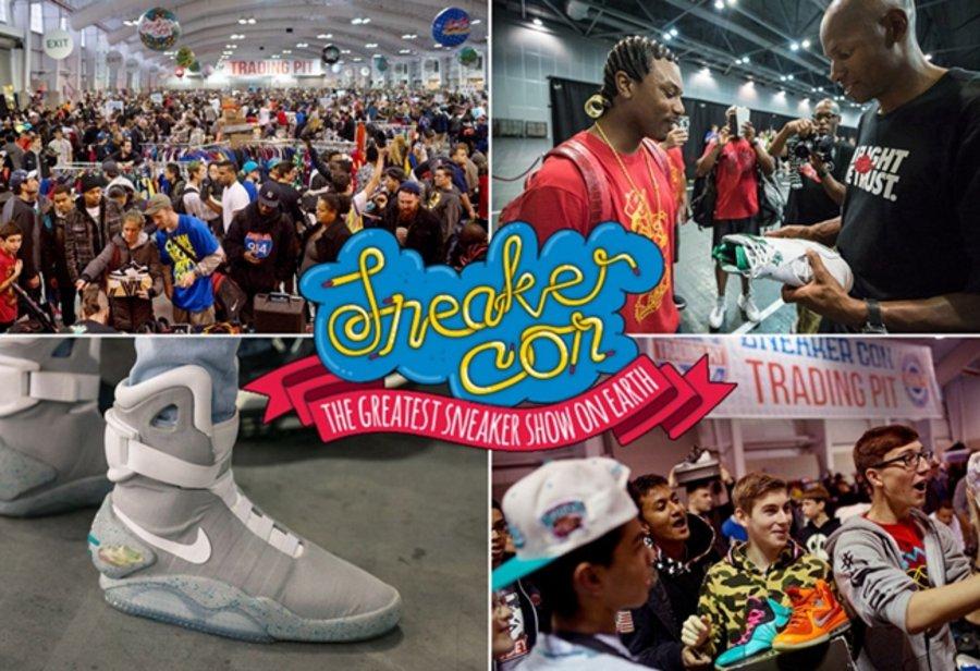 Sneaker Con,Nike,adidas,发售  人人都想去!全球顶级球鞋展来了!今天还能抢票!