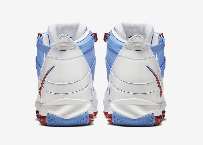 "AO2434-400,Zoom LeBron 3,Nike,  詹皇专属配色首度发售!LeBron 3 ""Houston"" 官网链接释出!"
