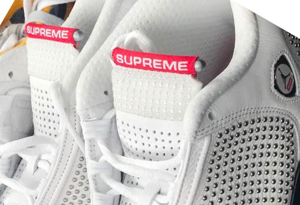 Supreme,Air Jordan 14,AJ14  Supreme x Air Jordan 14 又有新图!下半年的秋冬发售