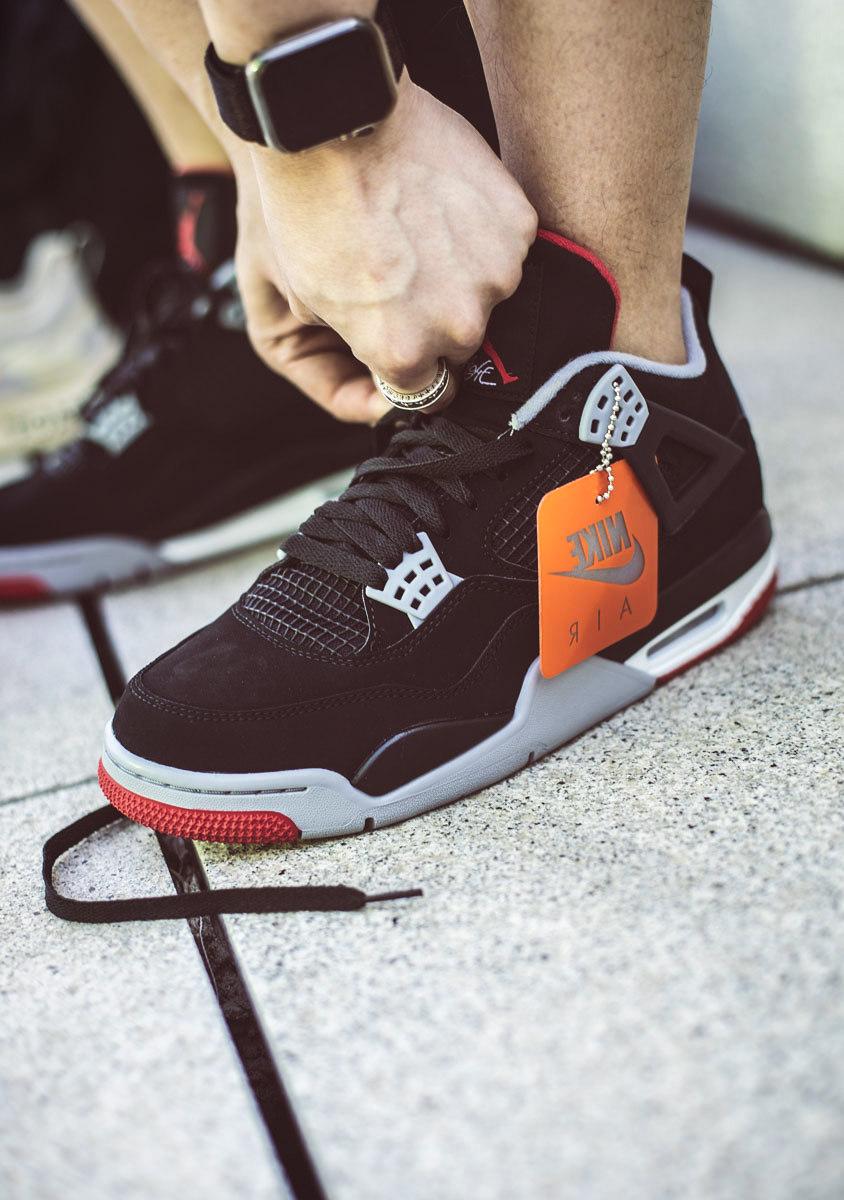 308497-060,AJ4,Air Jordan 4 308497-060 AJ4 本月「最佳复刻」!黑红 Air Jordan 4 的上脚效果究竟能打几分?