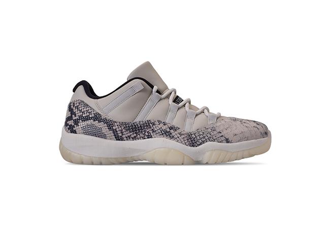 Air Jordan 11 Low,AJ11,发售,CD68  发售日期提前!白蛇 Air Jordan 11 Low 本月就要来了