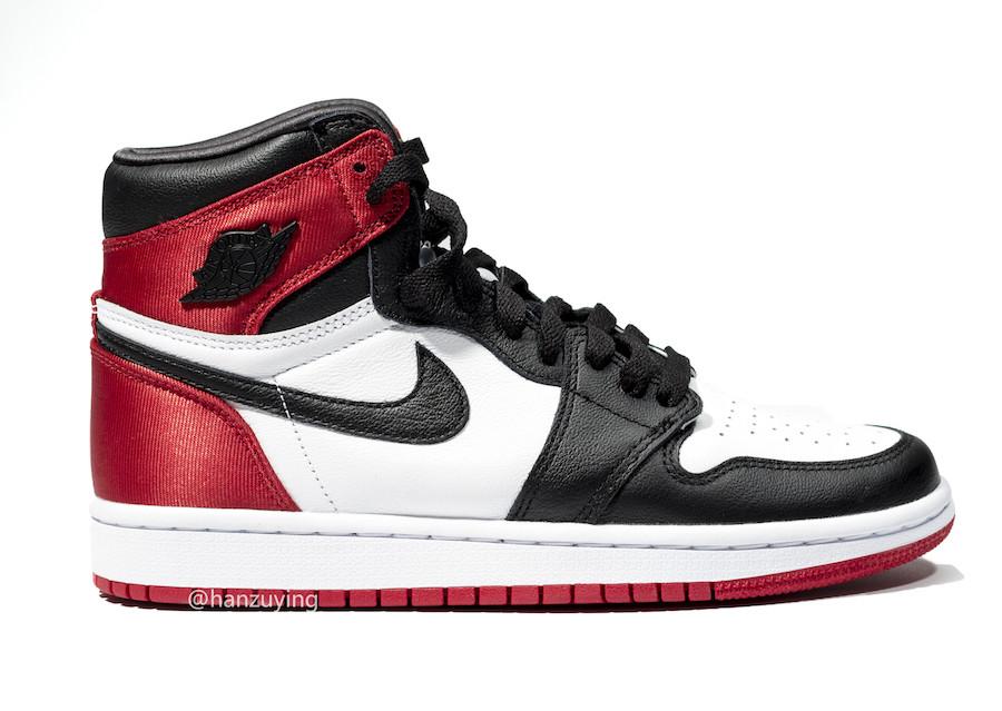 AJ1,Air Jordan 1,发售,CD0461-016  丝绸黑脚趾 AJ1 货量曝光!入手难度有点高!