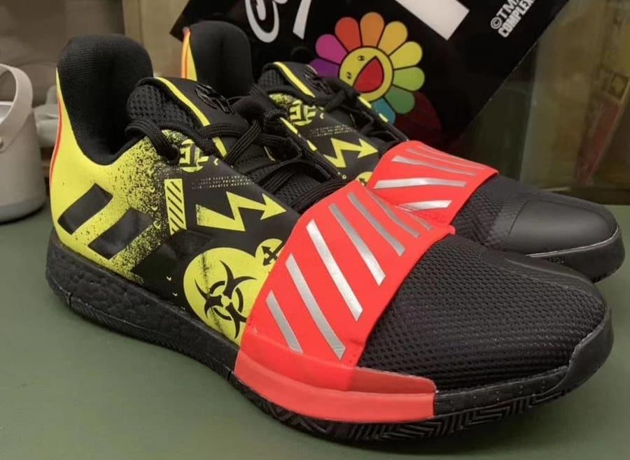 Harden Vol.3,adidas  哈登的 MVP 战靴提前安排好了!这次设计有大不同!