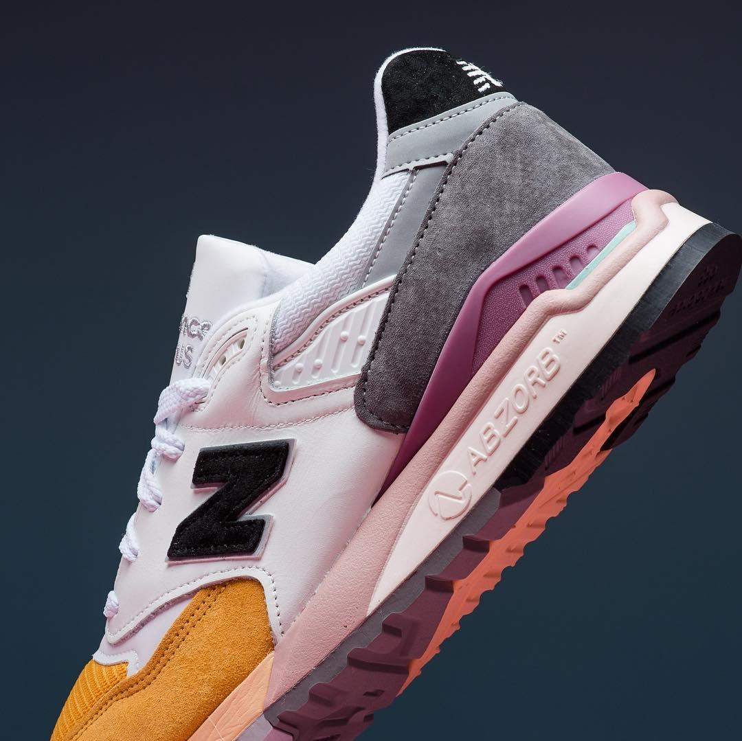 New Balance,NB,998  多种色彩拼接!这款美产 New Balance 新品有点帅