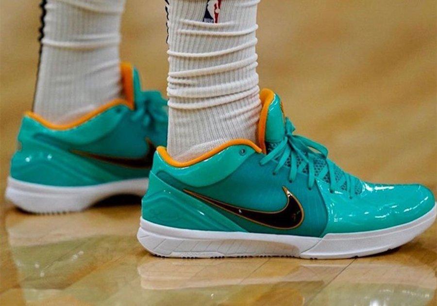 Nike,Zoom Kobe 4,ZK4,UNDEFEATE  UNDFTD × ZK4 实物终于曝光!鞋王塔克又提前上脚了!