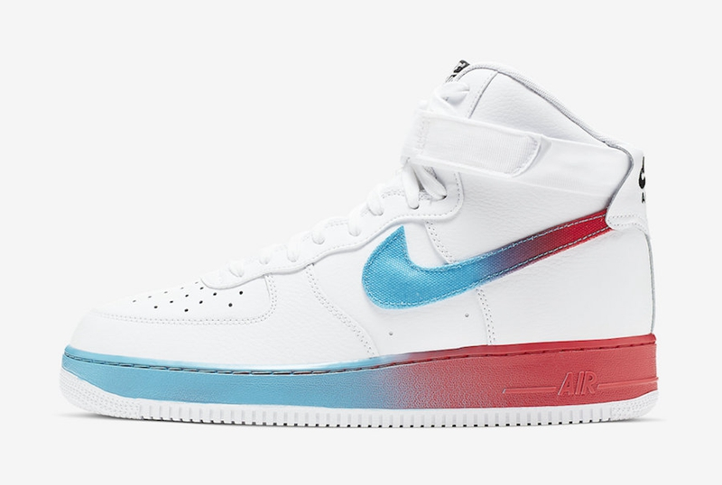 Nike,Air Force 1 High,CJ0525-1  与众不同的撞色设计!Air Force 1 High 全新配色登场