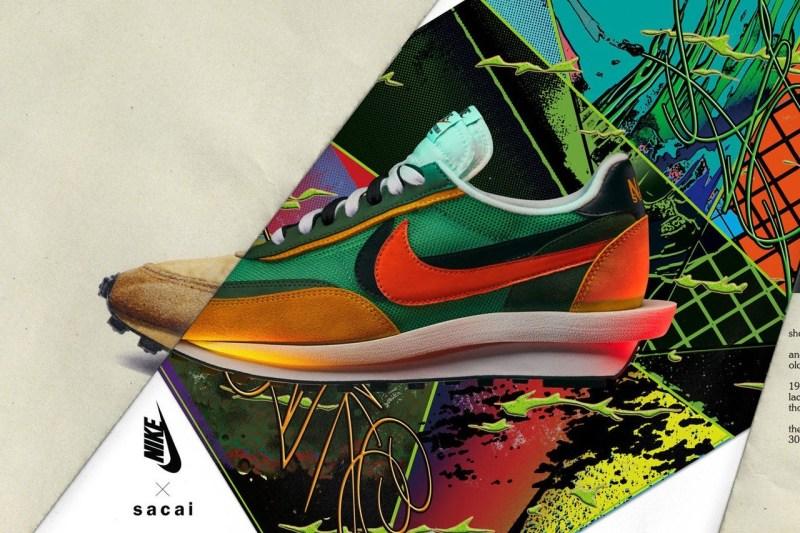Sacai,Nike,Blazer Mid,LDWaffle  Sacai x Nike 系列终于要发售了!更有超限量配色同步登场!