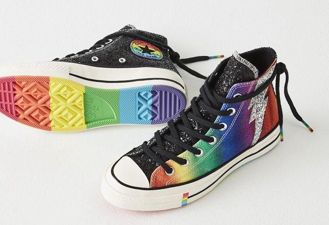 Converse,Chuck 70,Chuck Taylor  炫彩的鞋面设计!Converse Pride 2019 系列登场!